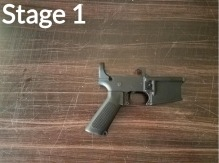 M16A1 Build Stage 1