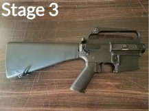 M16A1 Build Stage 3
